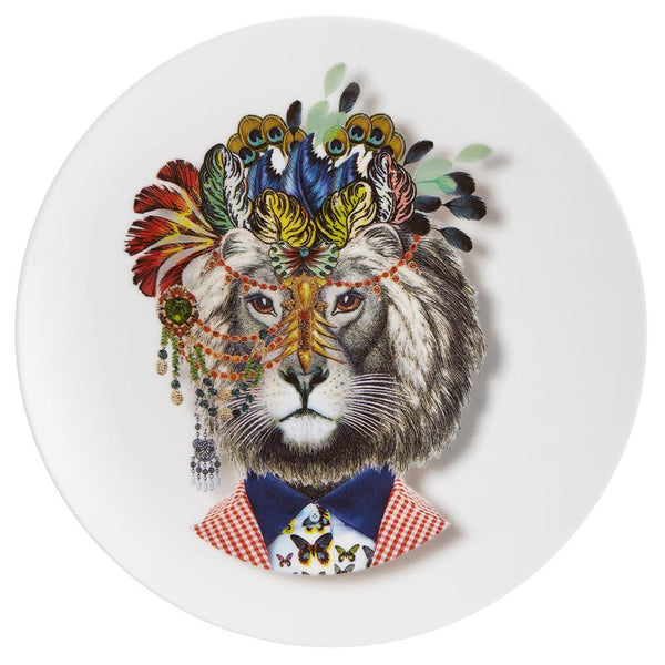 Love Who You Want Indilion Dessert Plate by Christian Lacroix