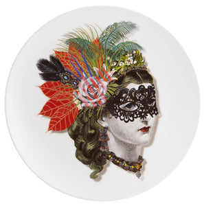 Vista Alegre Vista Alegre Love Who You Want Mamzel Scarlet Dessert Plate by Christian Lacroix 21124771
