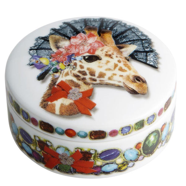 Love Who You Want Dona Jirafa Decorative Box by Christian Lacroix
