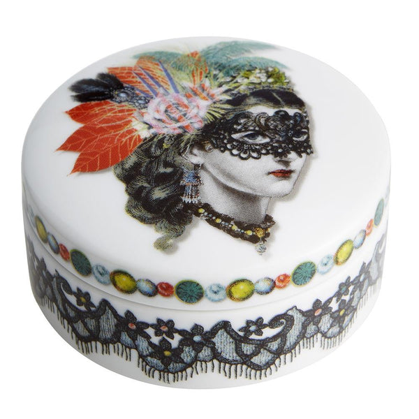 Love Who You Want Mamzelle Scarlette Decorative Box by Christian Lacroix