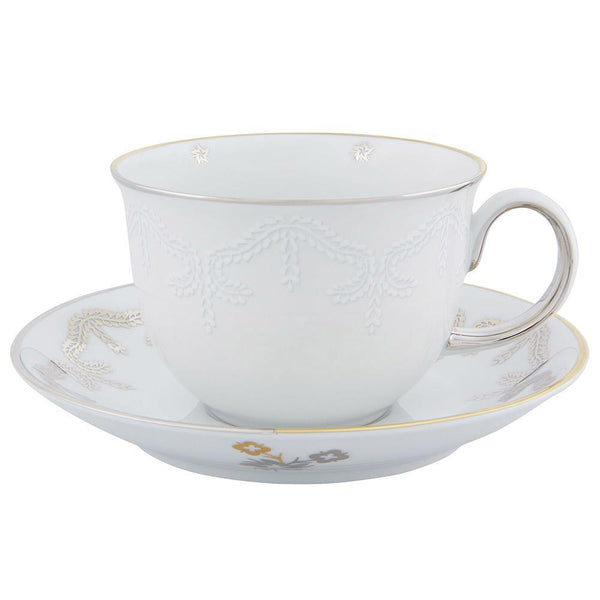 Christian Lacroix Paseo Tea Cup and Saucer - Set of 4