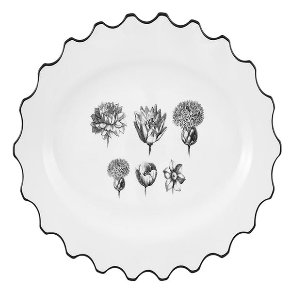 Christian Lacroix Herbariae Small Oval Platter