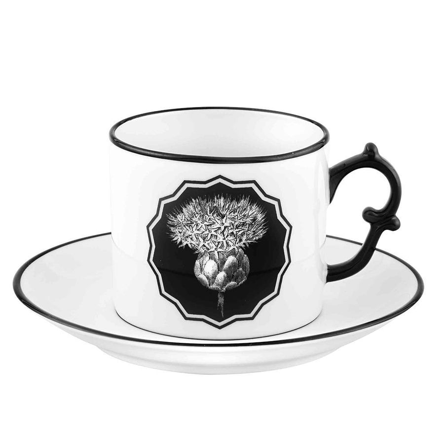 Christian Lacroix Herbariae Set of 2 Tea Cup and Saucer - 2 Available Colors