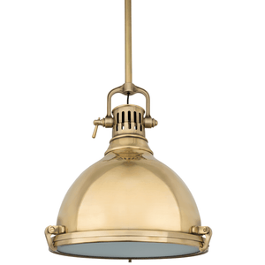 Hudson Valley Lighting Hudson Valley Lighting Pelham Pendant - Aged Brass & Aged Brass 2212-AGB