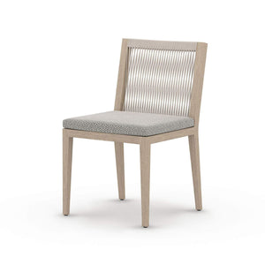 Four Hands Sherwood Outdoor Dining Chair - Washed Brown - Available in 5 Colors | Alchemy Fine Home