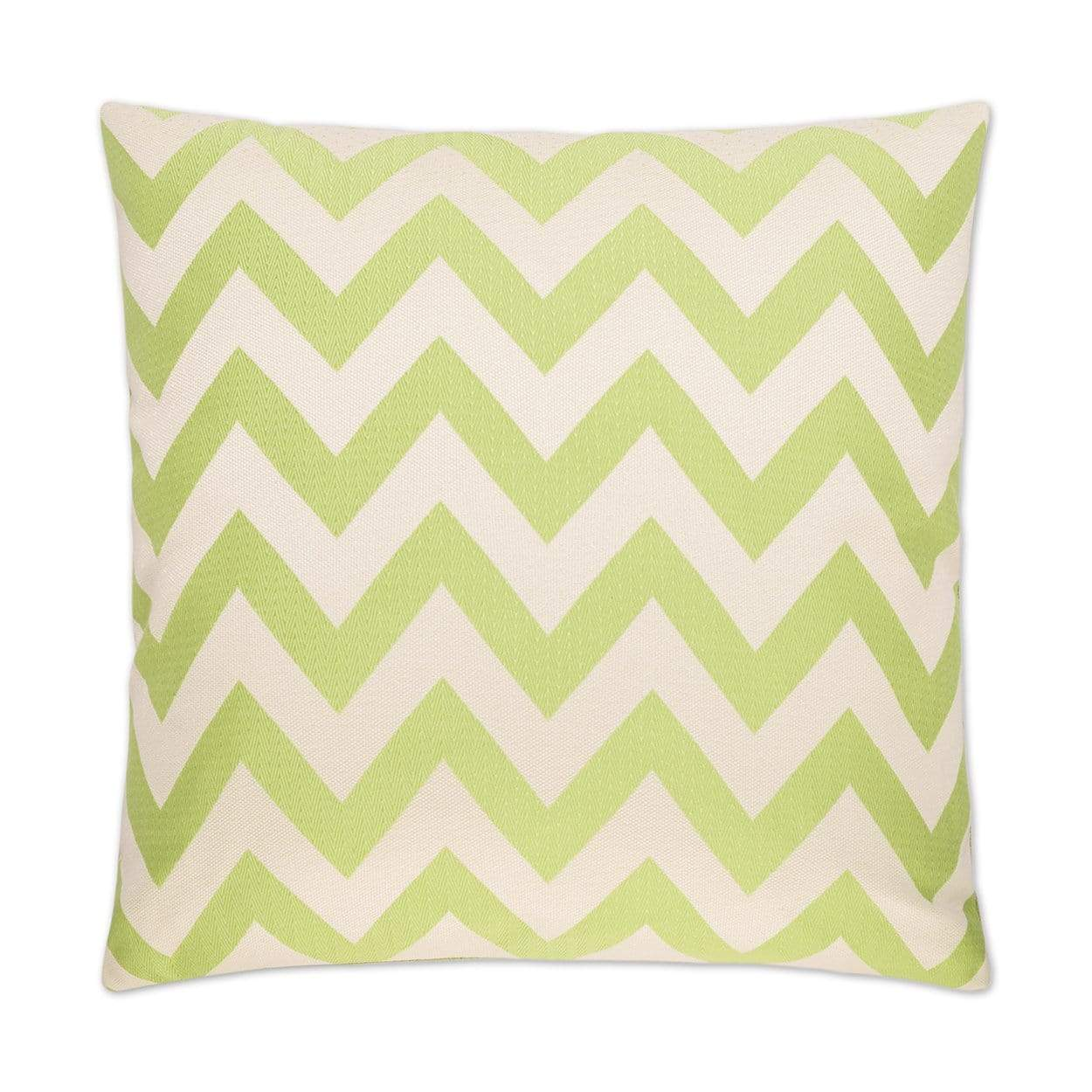 D.V. Kap D.V. Kap Chevron Chic Pillow - Available in 3 Colors Green 2313-G