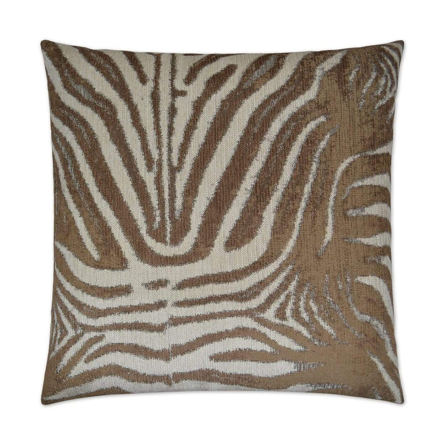 D.V. Kap D.V. Kap Zebrana Pillow - Available in 2 Colors Charcoal 2580-C