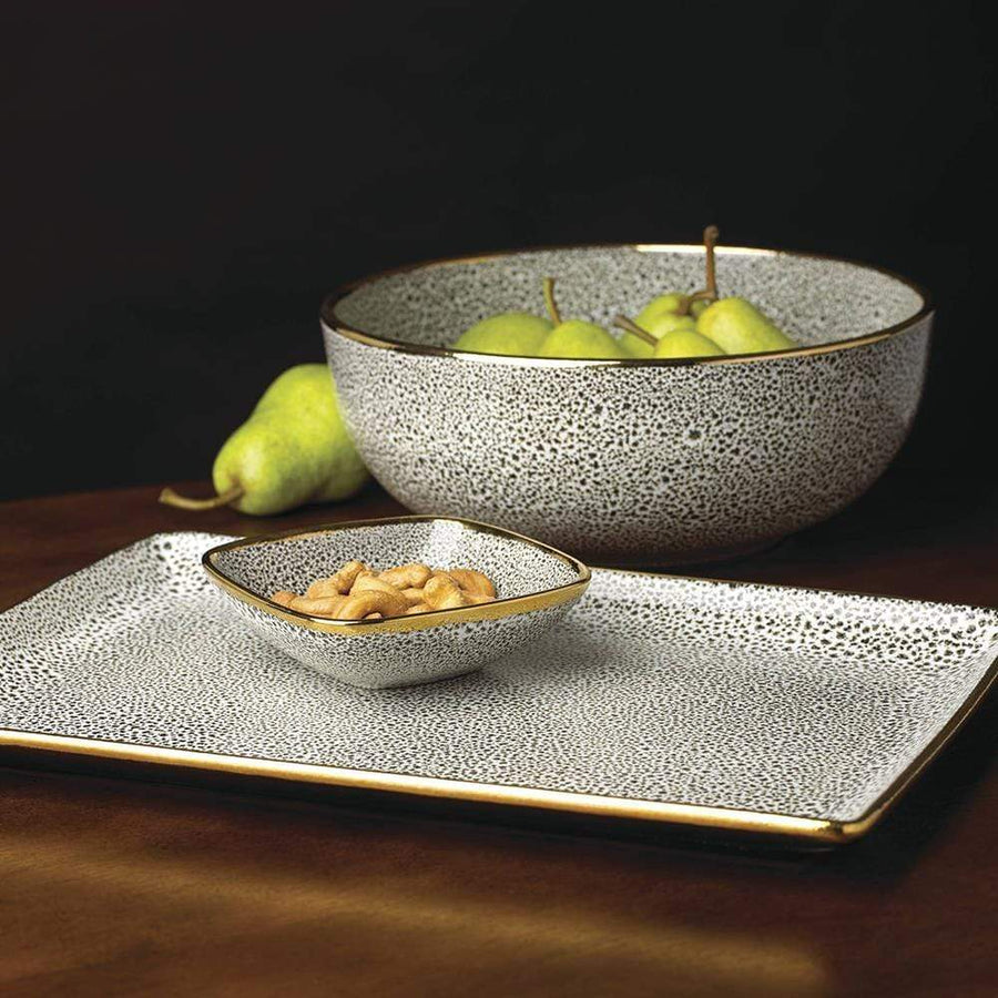 "Michael Wainwright Panthera Platinum 14"" Tray"