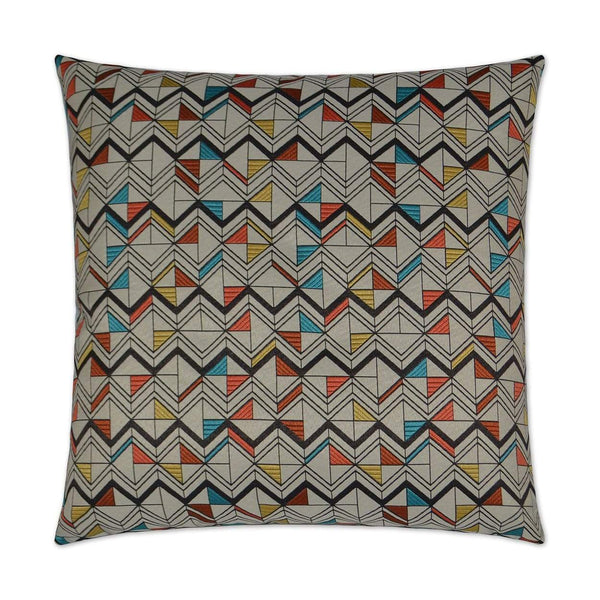 D.V. Kap Basenji Pillow - Available in 2 Colors | Alchemy Fine Home