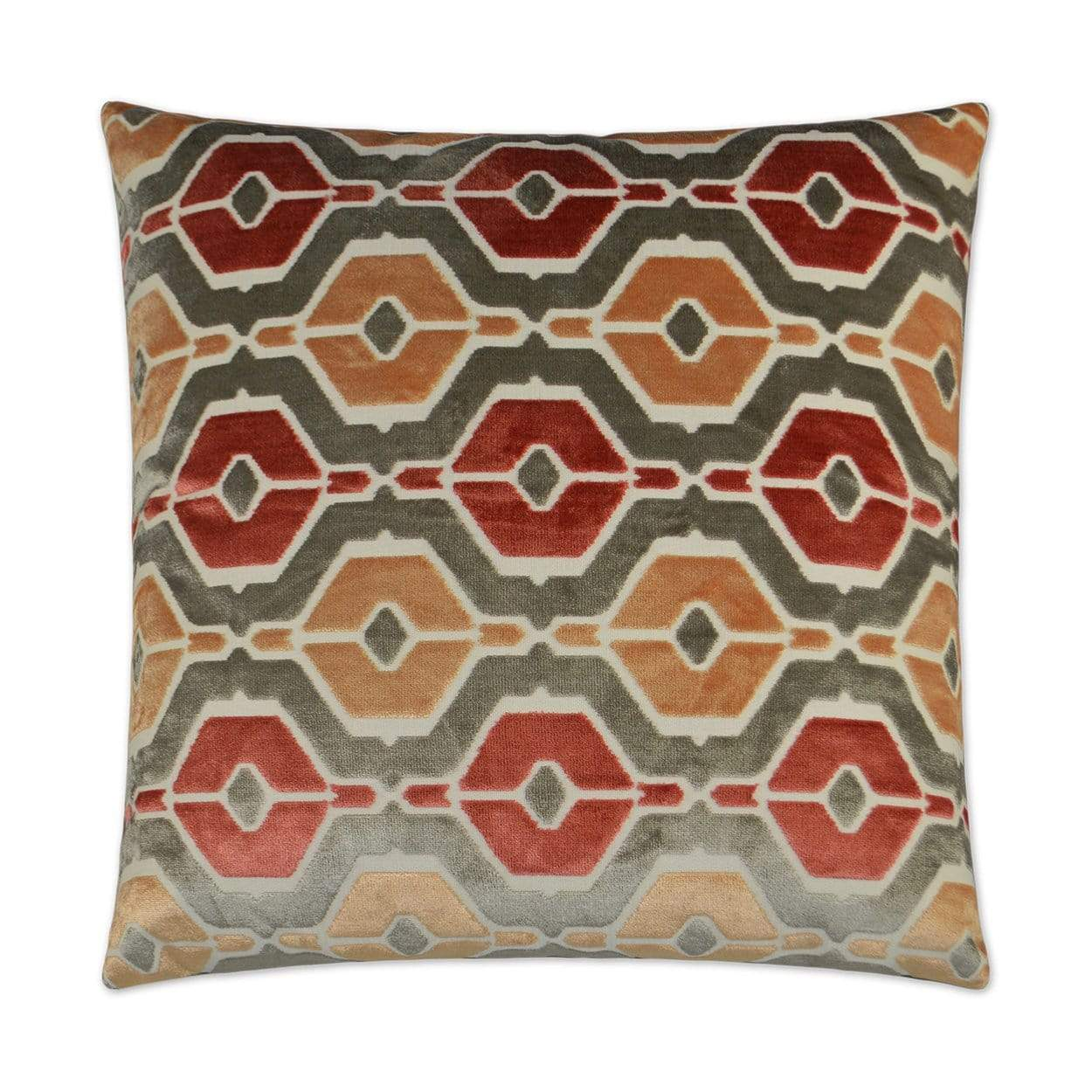 D.V. Kap D.V. Kap Dellan Pillow - Available in 2 Colors Coral 2942-C