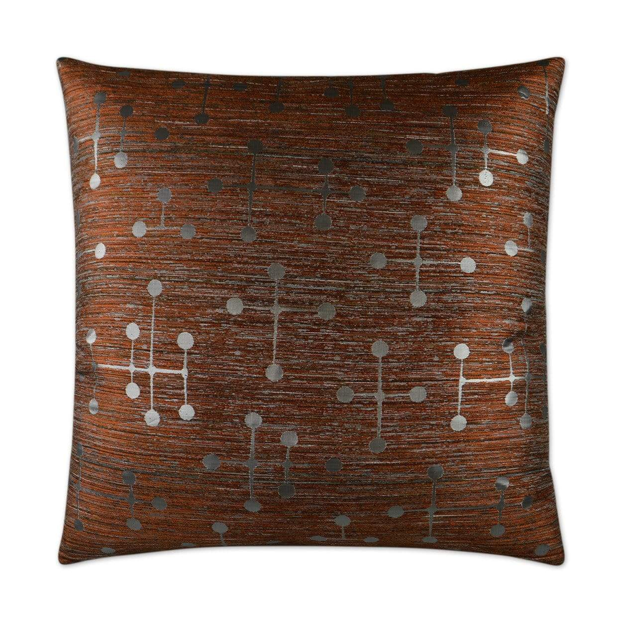 D.V. Kap D.V. Kap Morse Pillow - Available in 5 Colors Black 2947-B