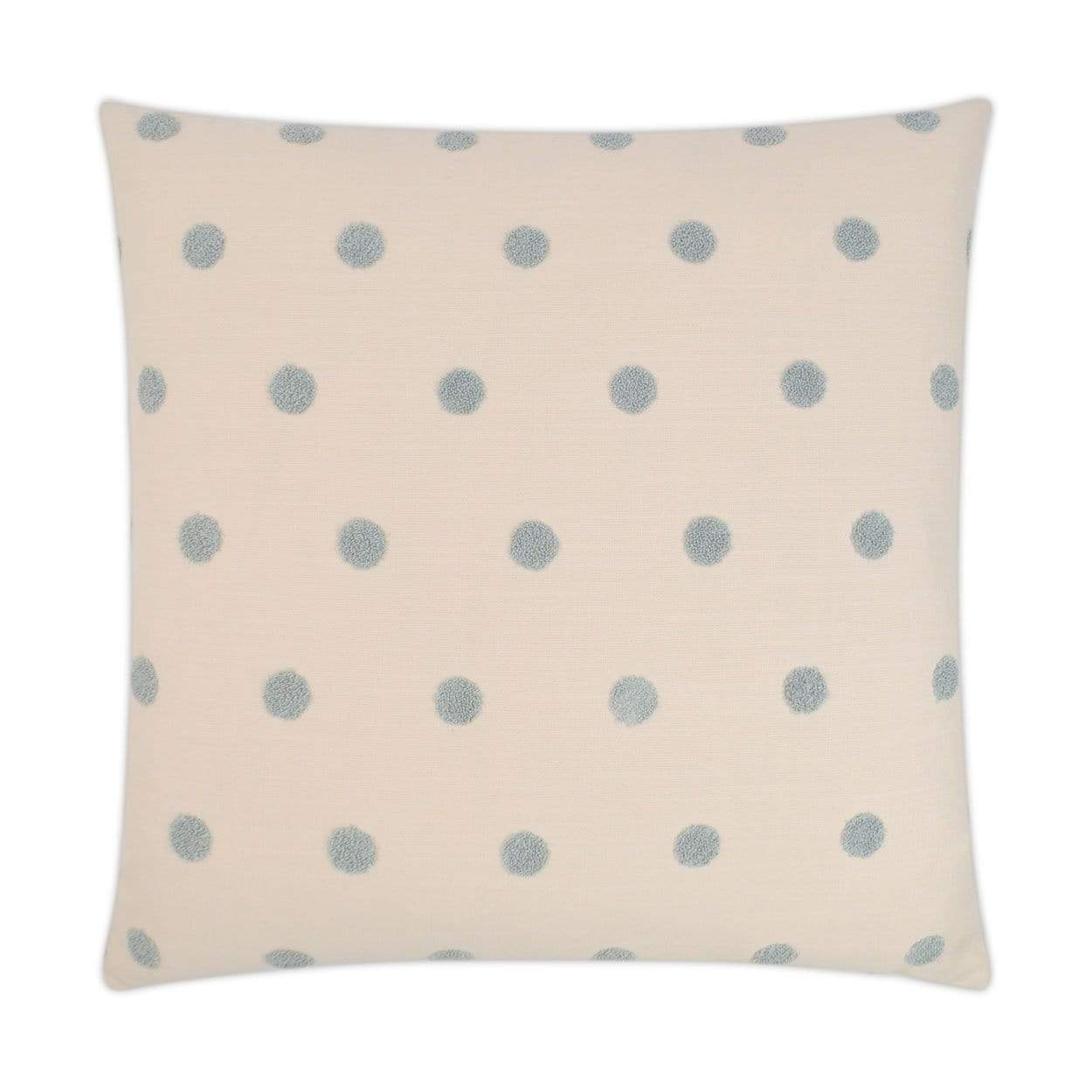 D.V. Kap D.V. Kap Puff Dotty Pillow - Available in 2 Colors Natural 3150-N