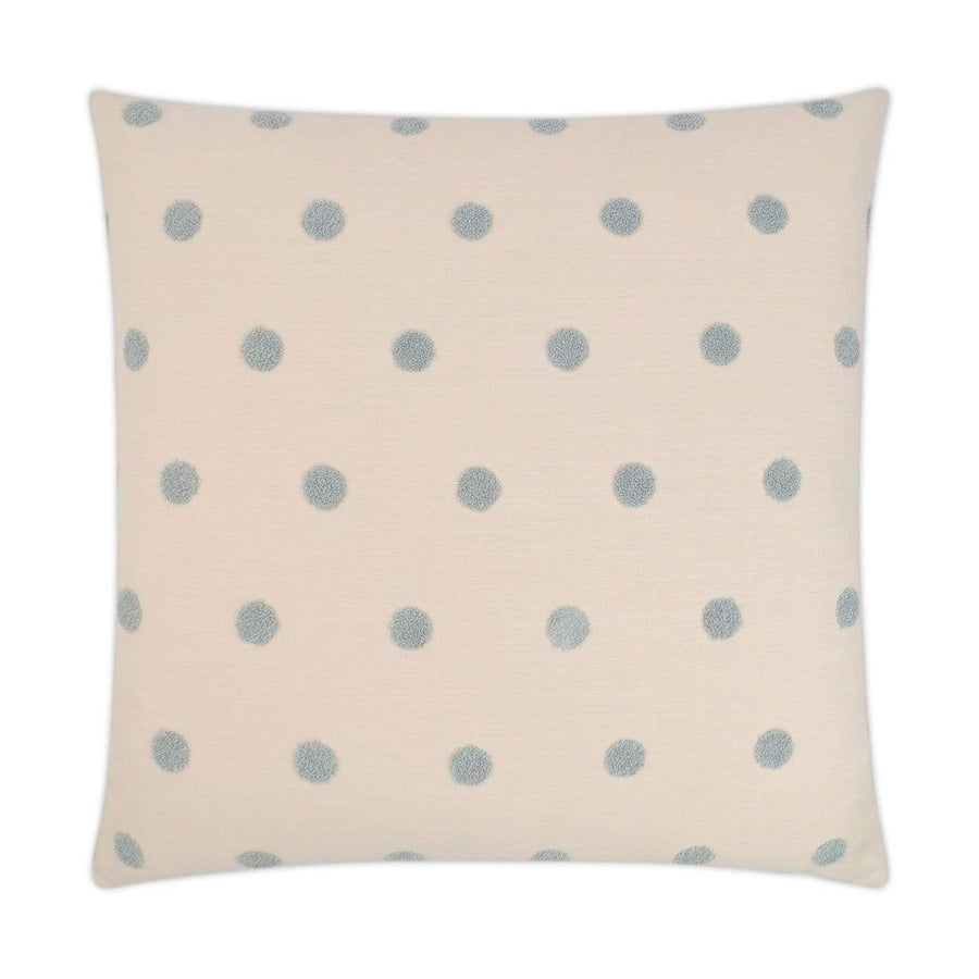 D.V. Kap Puff Dotty Pillow - Available in 2 Colors | Alchemy Fine Home