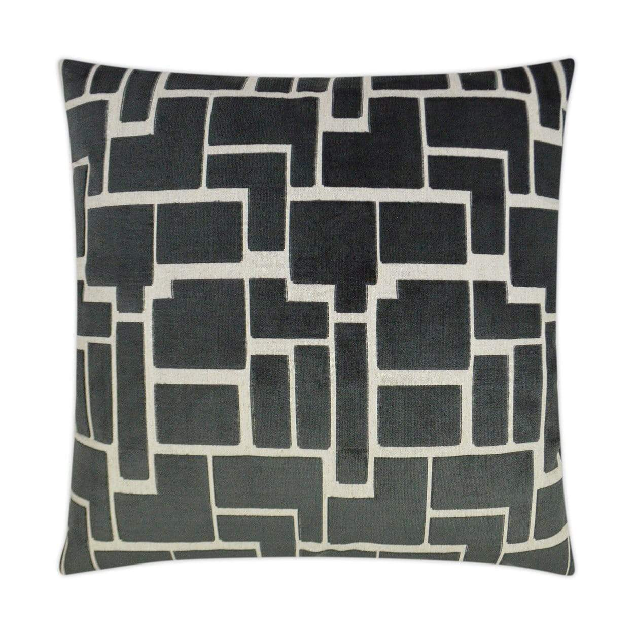 D.V. Kap D.V. Kap Aura Pillow - Available in 4 Colors Charcoal 3265-C