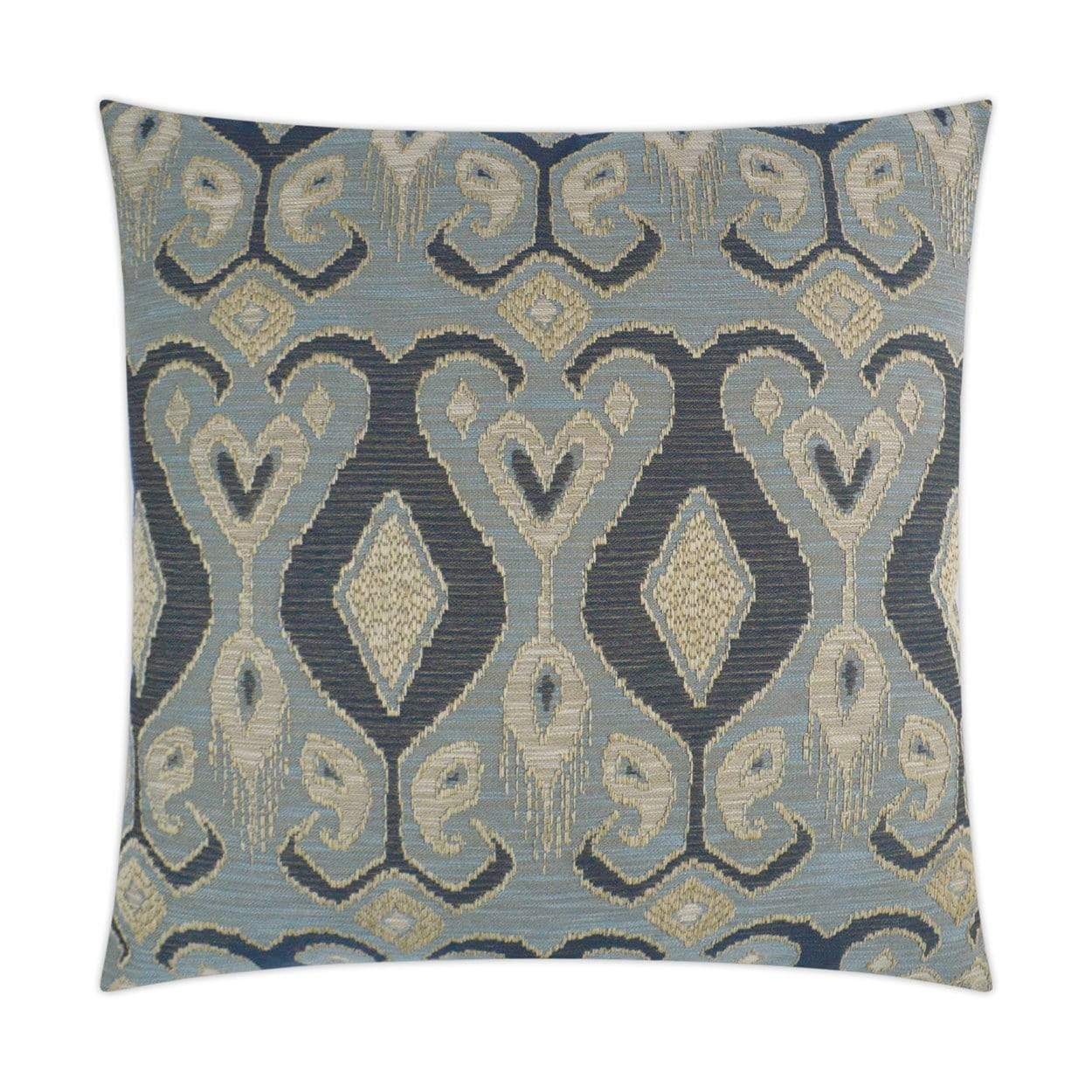 D.V. Kap D.V. Kap Bristol Pillow - Available in 2 Colors Blue 3328-B