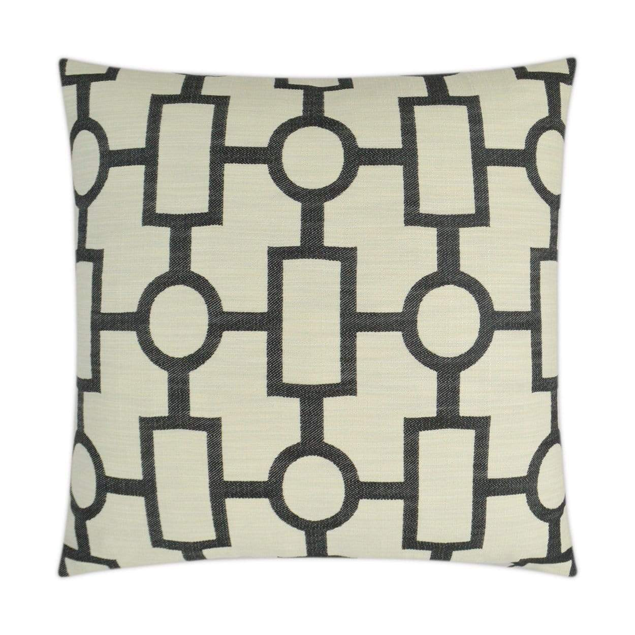 D.V. Kap D.V. Kap Ellington Pillow - Available in 4 Colors Black 3331-B