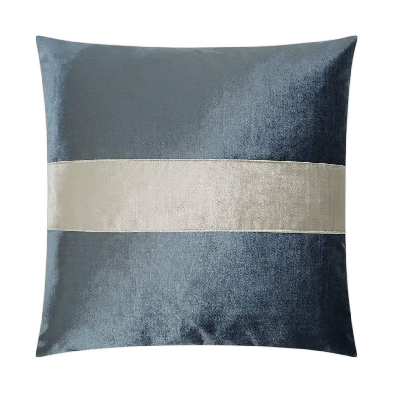D.V. Kap D.V. Kap Iridescence Band Pillow - Available in 8 Colors Baltic 3384-B
