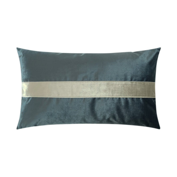 D.V. Kap Iridescence Band Lumbar Pillow - Available in 8 Colors | Alchemy Fine Home