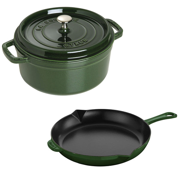 STAUB 3-pc Cocotte and Fry Pan Set | Alchemy Fine Home
