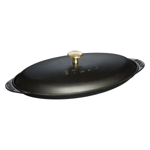 STAUB 14.5-inch X 8-inch Covered Fish Pan | Alchemy Fine Home