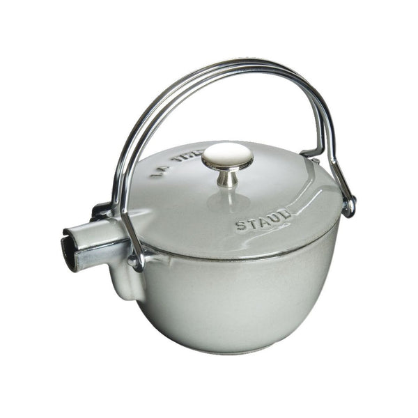 Staub STAUB 1.25-qt Round Tea Kettle Graphite Grey 1650018