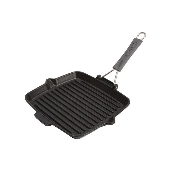 STAUB 9.5-inch Square Folding Grill | Alchemy Fine Home