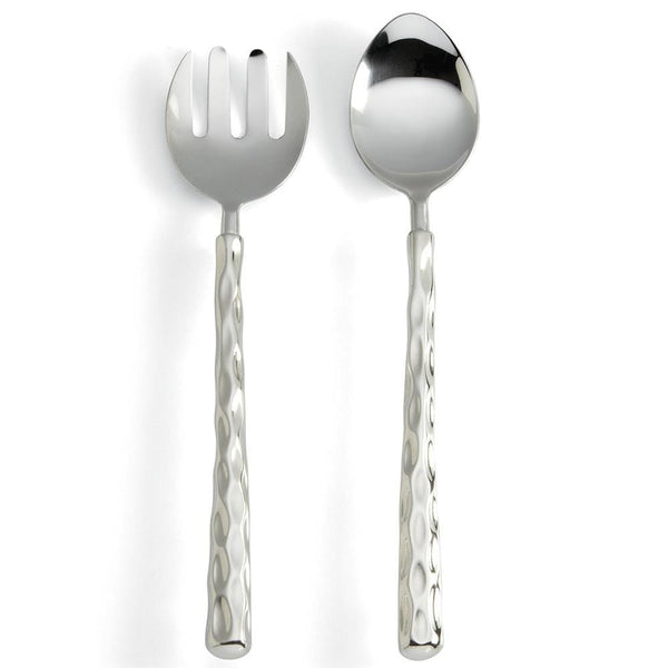 Truro Platinum Salad Server Set