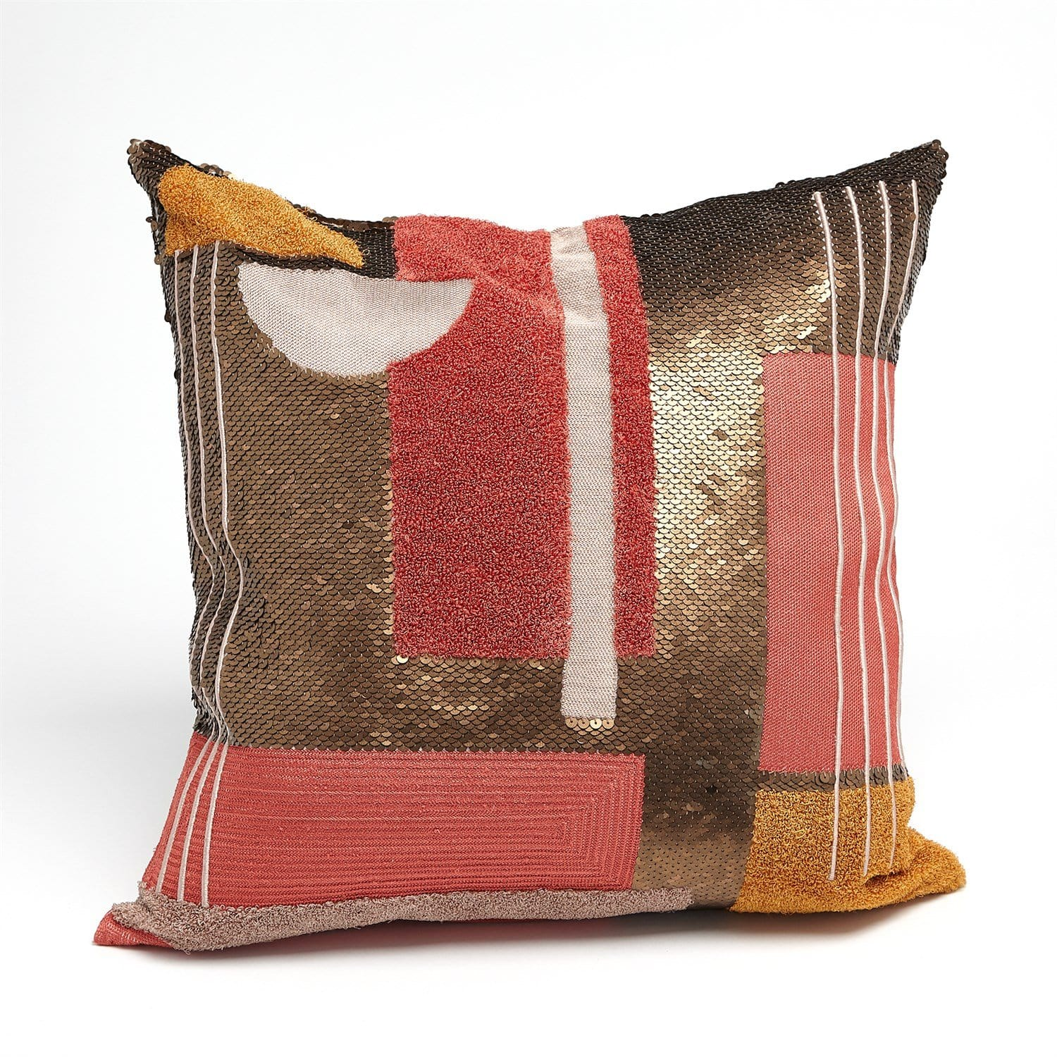 Global Views Global Views Beaded Pillow - Modernist Pillow