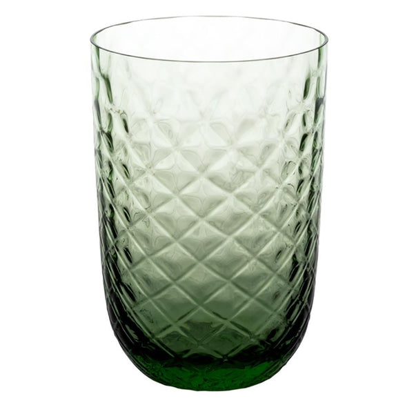 Vista Alegre Buriti Green Old Fashion Glass
