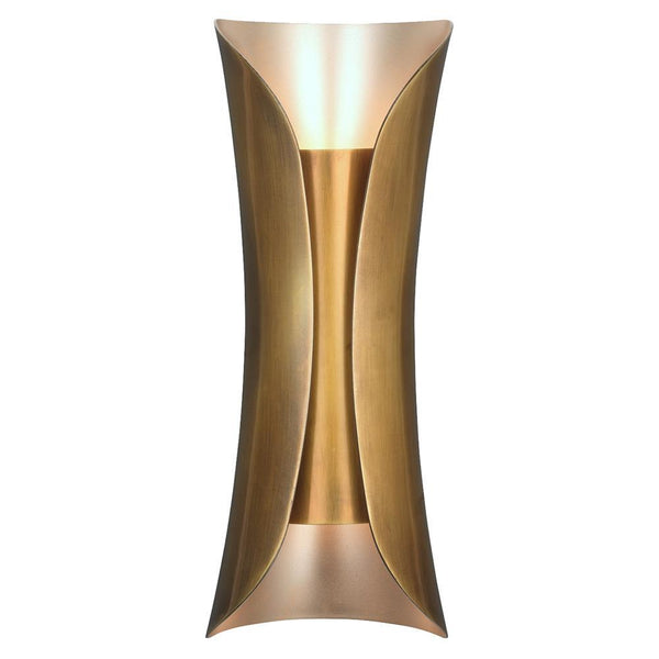 Jamie Young Capsule Sconce in Antique Brass