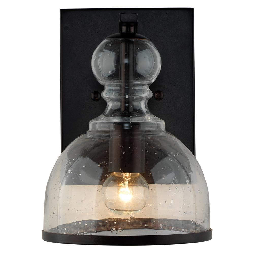 Jamie Young Jamie Young Small St. Charles Wall Sconce in Oil Rubbed Bronze Metal 4STCH-SMOB