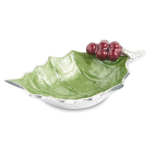 "Julia Knight Holly Sprig 6.5"" Bowl in Mojito"