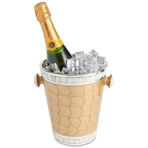 "Julia Knight Classic 8"" Ice Bucket in Toffee"