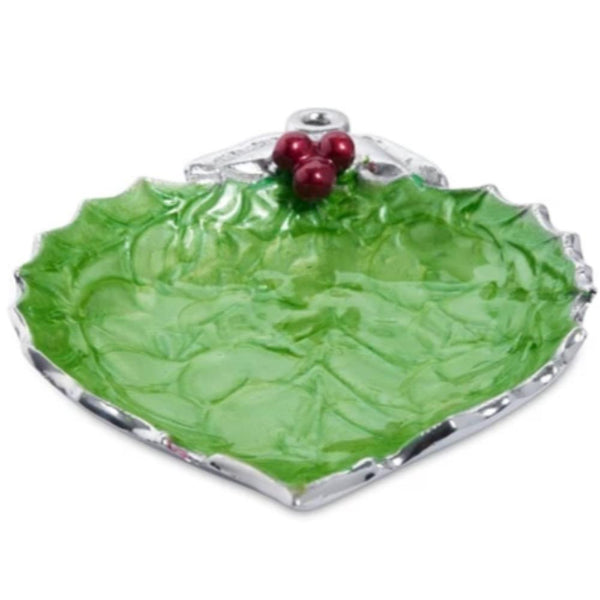 "Julia Knight Holly Sprig 7"" Ornament Bowl in Mojito"