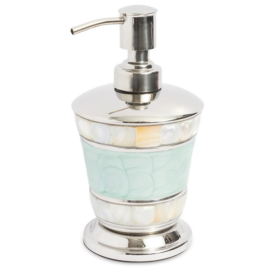 "Classic 7"" Soap Dispenser in Aqua"