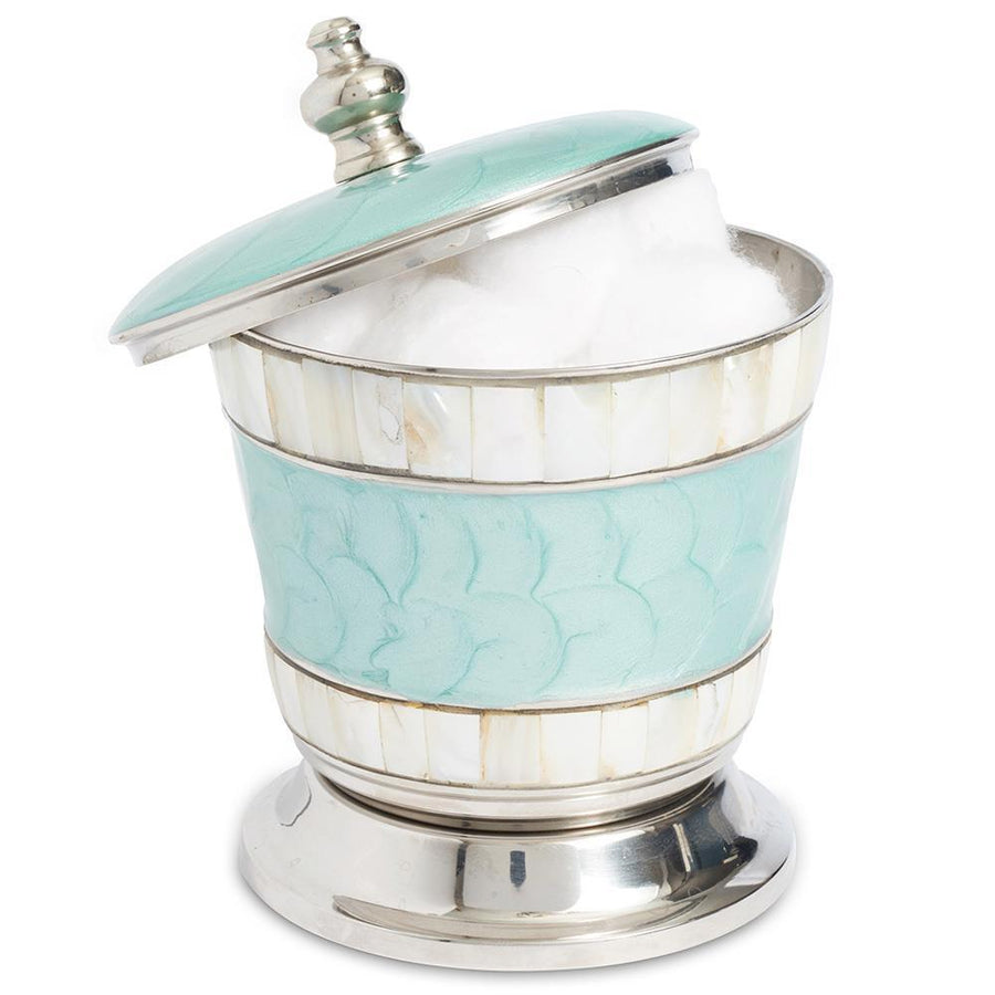 "Classic 5.5"" Covered Canister in Aqua"
