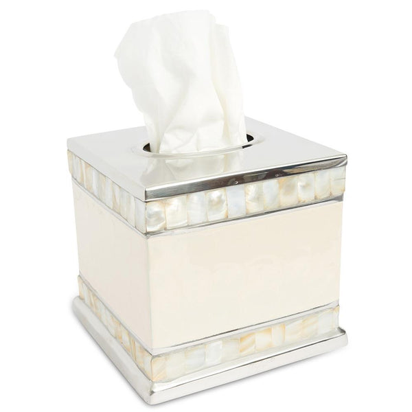 "Julia Knight Julia Knight Classic 5"" Tissue Cover - 7 Available Colors Snow 5930015"