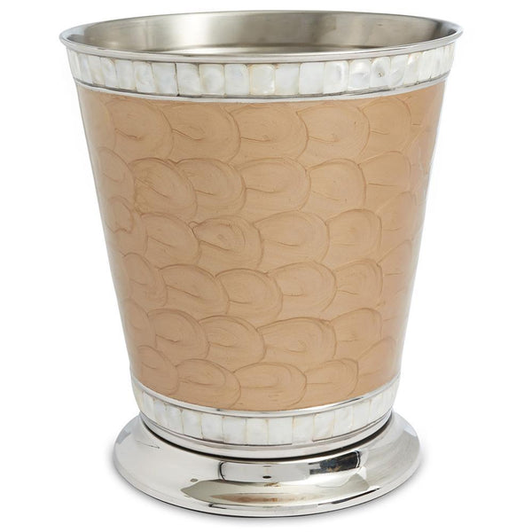 "Julia Knight Classic 9.75"" Waste Basket in Toffee"