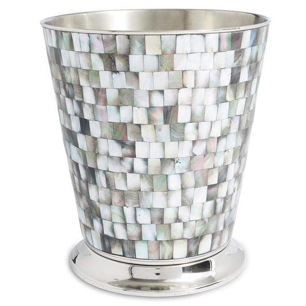 "Julia Knight Classic 9.75"" Waste Basket in Tahitian Pearl"