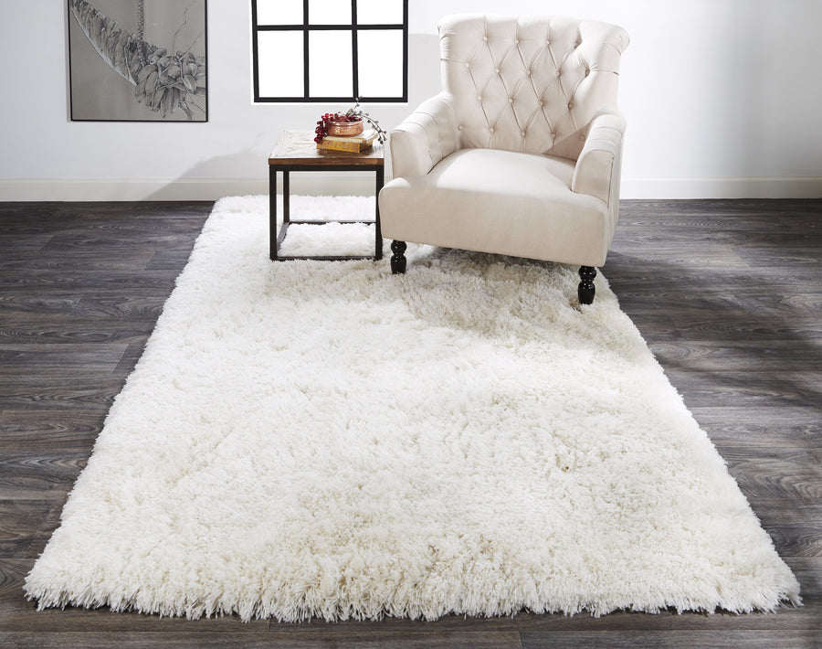 Feizy Home Beckley Rug - White Prl0004450F | Alchemy Fine Home