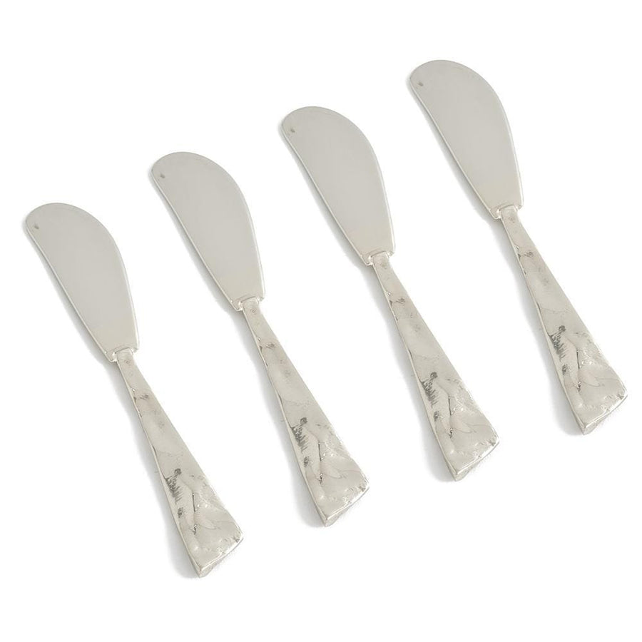 Julia Knight Sierra Spreader Knife in Silver - Set of 4