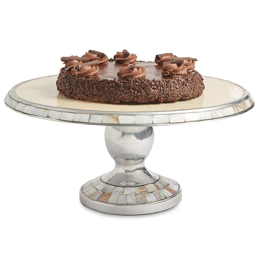 "Classic 14"" Cake Stand in Snow"