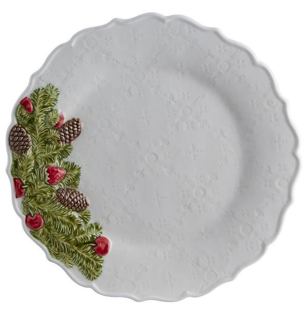 Bordallo Pinheiro Christmas Garland - Dinner Plate, set of 4