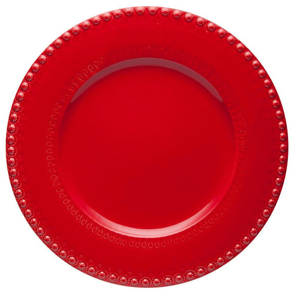Bordallo Pinheiro Fantasy Red Charger Plate - Set Of 2