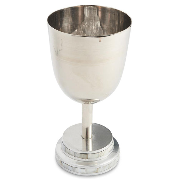 "Julia Knight Kiddush Cup 6.75"" in Pearl"