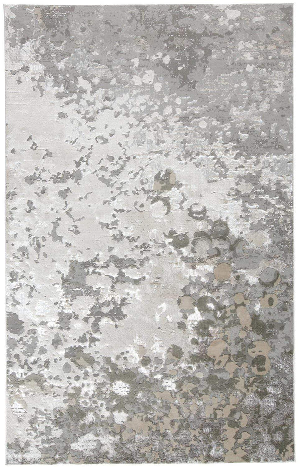 Feizy Home Micah Rug - Silver/Gray | Alchemy Fine Home