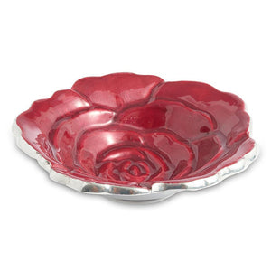 "Julia Knight Rose 4"" Petite Bowl in Pomegranate"