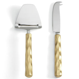 Michael Wainwright Truro Gold Cheese Shaver & Knife Set 71TR28