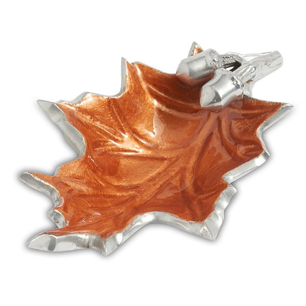 "Julia Knight Oak Leaf 6"" Petite Bowl in Spice"