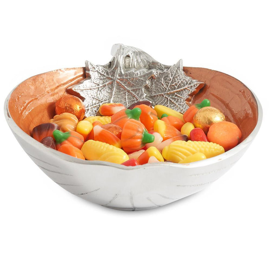 "Julia Knight Pumpkin 7.5"" Bowl in Spice"